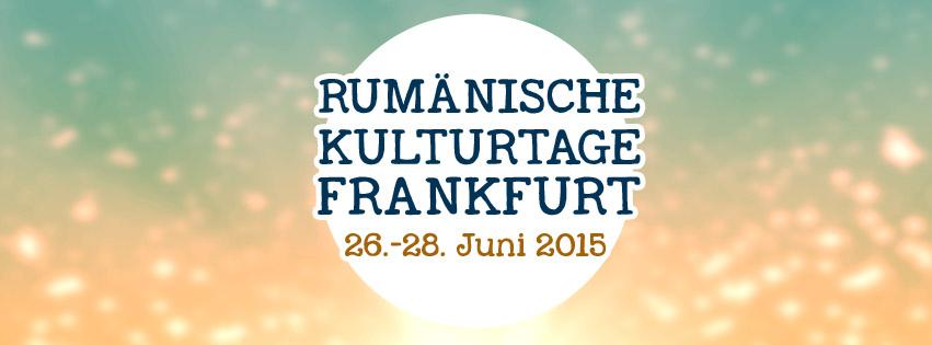 Zilele culturii române în Frankfurt